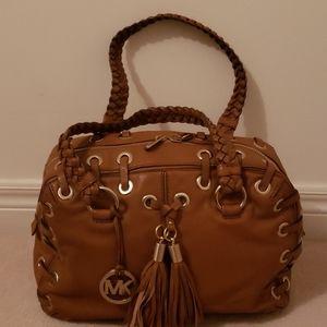 Michael Michael Kors brown leather bag